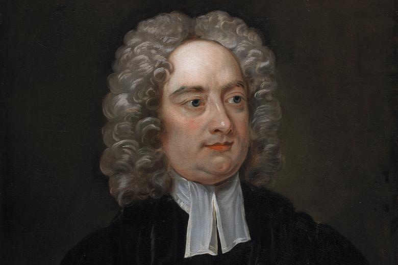1667. november 30-án született JONATHAN SWIFT angol-ír költő, író