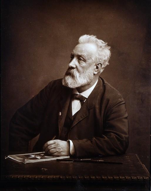 1828. február 8-án született JULES VERNE francia író