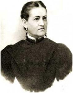 Mikszáth Kálmán felesége, Mauks Ilona (1855-1926)