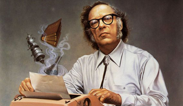 1920. január 2-án született ISAAC ASIMOV orosz származású amerikai író és biokémikus