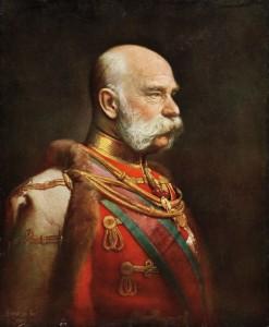 Benczúr Gyula: Ferenc József arcképe (1903)