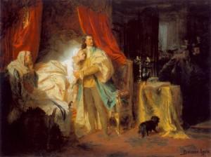 Benczúr Gyula: II. Rákóczi Ferenc elfogatása a nagysárosi várban (1869)