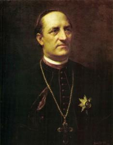 Benczúr Gyula: Ipolyi Arnold portréja (1892)