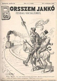 1868. január 5-én jelent meg a legnépszerűbb dualizmuskori élclap, a BORSSZEM JANKÓ első száma