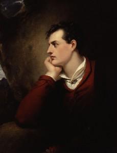 Richard Westall: George Gordon Byron portréja