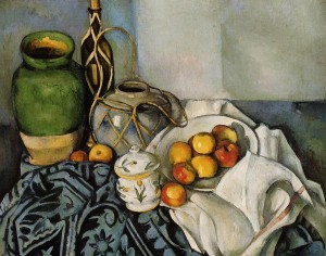 1. Paul Cézanne: Csendélet almákkal, 1893-94 65,5 x 81 cm olaj, vászon Los Angeles, J. Paul Getty Museum
