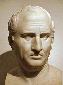 Kr.e. 106. január 3-án született MARCUS TULLIUS CICERO, az ókori Rómában élt író, filozófus és politikus