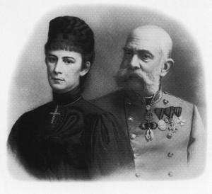 A Sisi néven máig népszerű Erzsébet királyné és I. Ferenc József osztrák császár és magyar király
