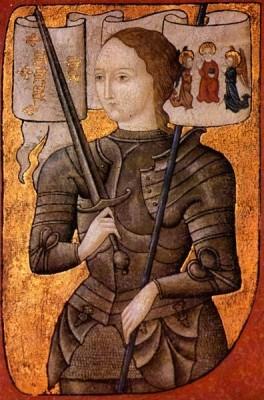 1412. január 6-án született JEANNE D'ARC, aki SZENT JOHANNA , illetve az ORLEANS-I SZŰZ néven vált ismertté a kultúr-és vallástörténetben