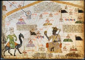 A KATALÁN ATLASZ ÉSZAK-AFRIKÁT ÁBRÁZOLÓ RÉSZE (1375)