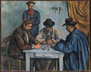 Paul Cézanne: Kártyázók, 1890-92. The Metropolitan Museum of Art, New York