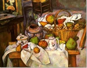 Paul Cézanne: Konyhaasztal, 1888-90.