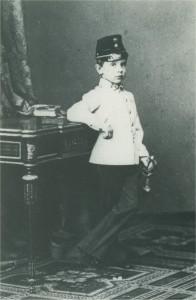 Rudolf trónörökös 5 évesen