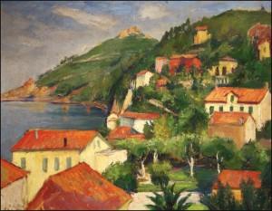 SZŐNYI ISTVÁN: Zebegényi dombok (1923)