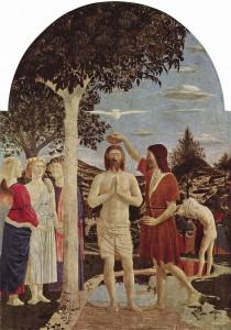Vízkereszt (Piero della Francesca, 1448-1450 körül, National Gallery, London)