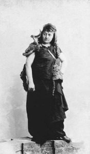 Franz Grillparzer: Medea. Nemzeti Színház, 1887. Jászai Mari (Medea)