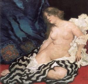 Thámár (1909) olaj, vászon, 113 x 117 cm (MNG)