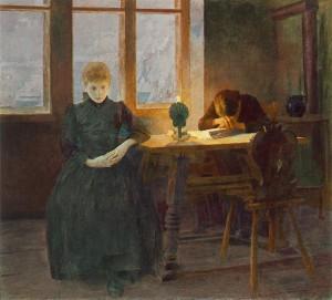 Árvák (1891) olaj, vászon, 120 x 135 cm (MNG)