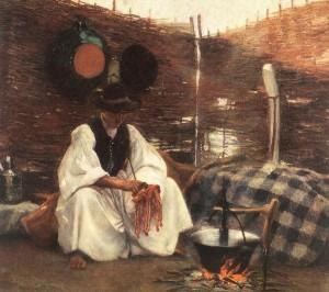 Cserénynél (1900) olaj, vászon, 73,7 x 84 cm (MNG)