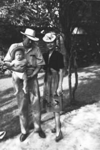 John Steinbeck családjával 1945
