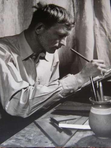 1931. február 17-én született KONDOR BÉLA festőművész, grafikus, költő