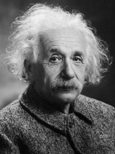Albert Einstein 1947-ben