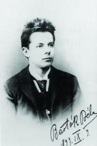 Bartók Béla érettségi tablóképe