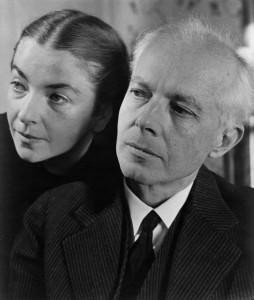 Bartók Béla második feleségével Pásztory Edittel (Dittával)