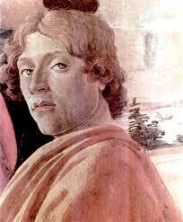 Önarckép; részlet a Háromkirályok imádása című festményről