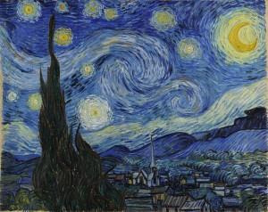 Csillagos éj (1889) New York, Modern Művészetek Múzeuma