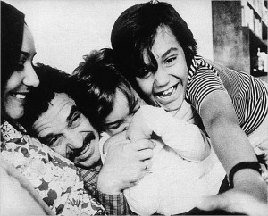 Gabriel García Márquez családjával (Barcelona, 1964)
