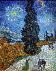 Falusi út Provence-ban, éjjel (1890)