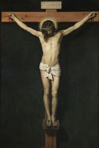 Jézus Krisztus a kereszten Diego Velázquez (1599-1660)