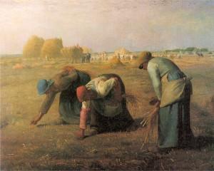 Jean-François Millet: Kalászszedők  (1857)
