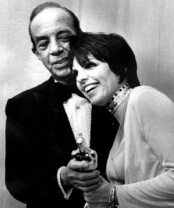 Liza Minnelli és édesapja Vincent Minnelli
