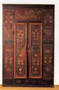 Székely bútor Tékalap (Homoródalmás, v. Udvarhely m., 1848) Néprajzi Múzeum