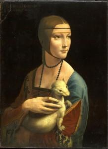 Hölgy hermelinnel (1480-90)