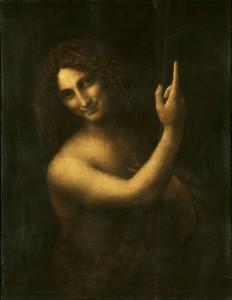 Keresztelő Szent János (1513-1516) Franciaország, Párizs, Louvre