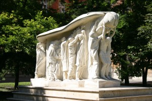 Az 1956-os forradalom emlékműve, Szeged, Rerrich tér.