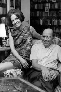 Örkény István és felesége Radnóti Zsuzsa