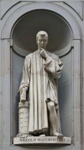 Machiavelli szobra (Uffizi)