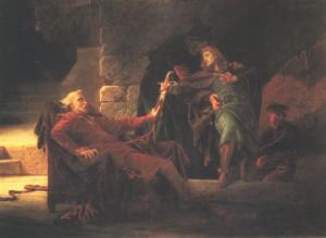 Thököly Imre menekülése (Thököly Imre búcsúja) 1873 Olaj, vászon, 159 x 222 cm Magyar Nemzeti Galéria, Budapest