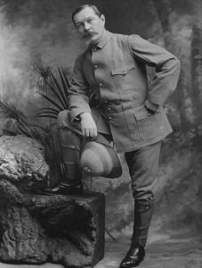 Sir Arthur Conan Doyle (1900)