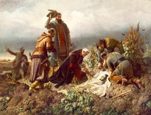 II. Lajos holttestének megtalálása (1860)