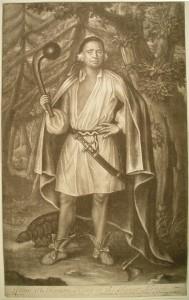 Etow Oh Koam, mohikán törzsfőnök (1710)