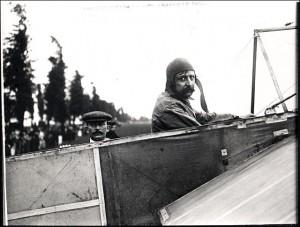 Louis Blériot (1909. július 25-én)