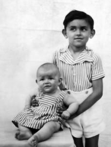 Hofi Géza és húga, Katalin