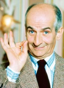 Louis de Funès (Courbevoie, 1914. július 31. – Nantes, 1983. január 27.)