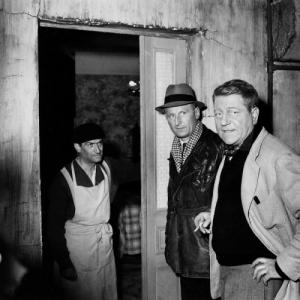 Louis de Funès, Bourvil és Jean Gabin (1956)