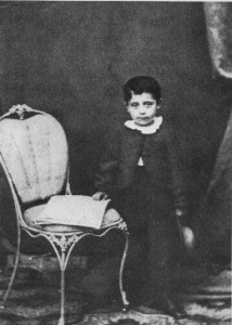 Gustav Mahler 6 évesen (1866)